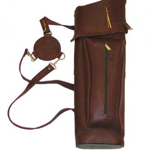 Leather Back Quiver By:Neet