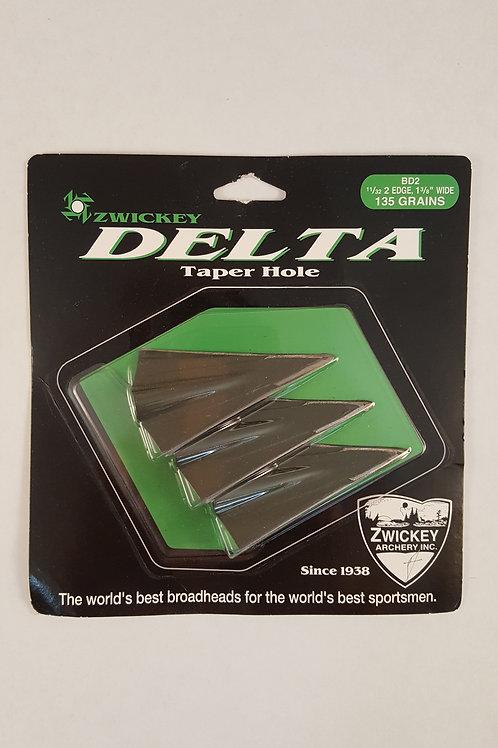 Zwickey Delta 2 Blade Broadheads