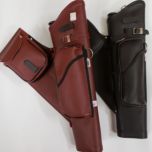 Leather Target Quiver By:Neet