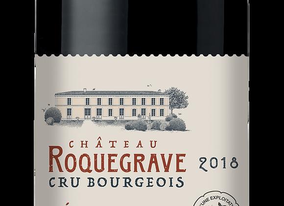 Ch. Roquegrave 2018 - carton de 6 x 75 cl