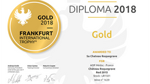 Le millésime 2015 à nouveau récompensé d'une médaille d'Or