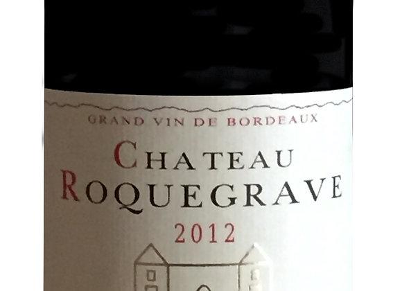 Ch. Roquegrave 2012 - carton de 6 x 75 cl