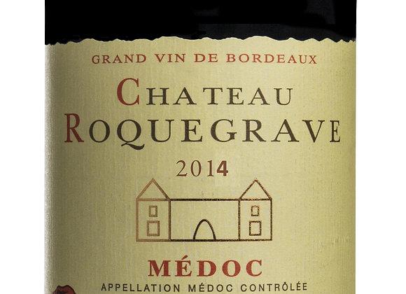 Ch. Roquegrave 2014 - carton de 6 x 75 cl