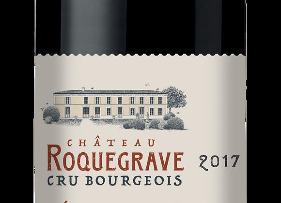 Ch. Roquegrave 2017 - carton de 6 x 75 cl