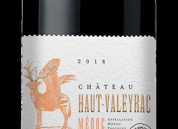 Ch. Haut-Valeyrac 2018 - carton 6 x 75 cl
