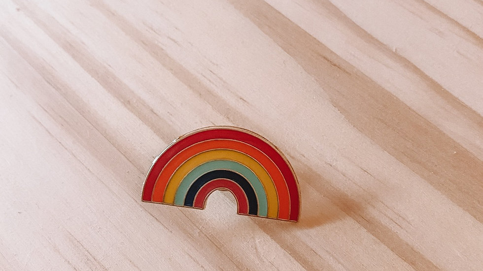 Pride Rainbow Pin