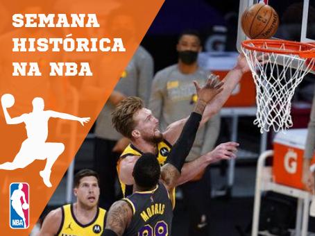 SEMANA HISTÓRICA NA NBA