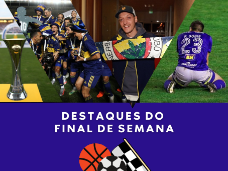 DESTAQUE DO FINAL DE SEMANA