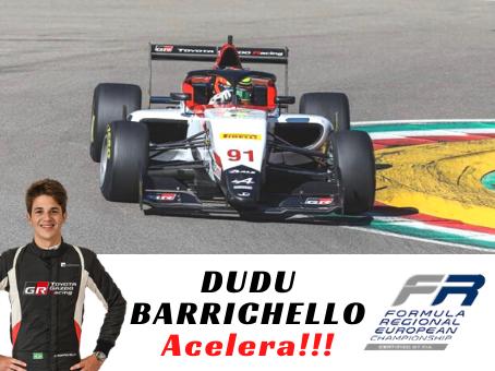 DUDU BARRICHELLO ACELERA