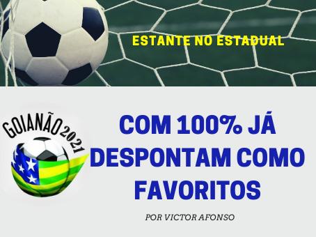 TRÊS TIMES 100% NO GOIANÃO
