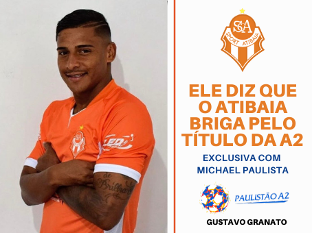 EXCLUSIVA COM MICHAEL PAULISTA