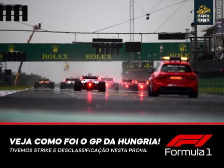 MUITAS AÇÕES E POLÊMICAS NO GP DA HUNGRIA