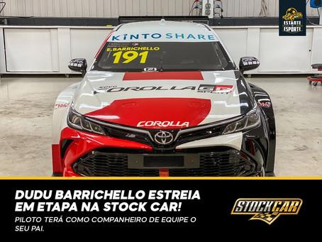 Dudu Barrichello estreia na Stock Car