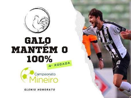 GALO MANTÉM O 100%