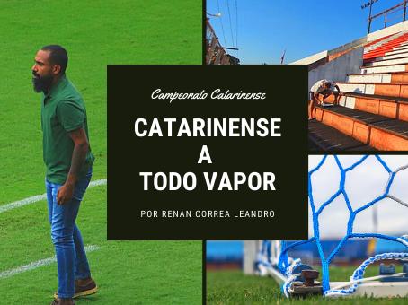 CATARINENSE A TODO VAPOR