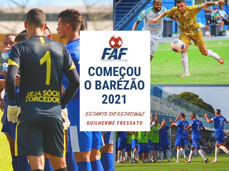 COMEÇOU O BARÉZÃO 2021