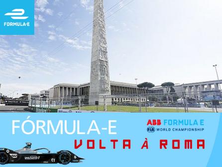 Fórmula E retorna à Roma