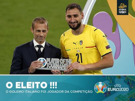 Gianluigi Donnarumma nomeado Jogador do Torneio do EURO 2020