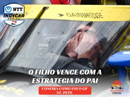 COLTON HERTA VENCE E CONVENCE EM ST. PETE