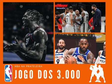 NOITE QUENTE NA TERÇA DE NBA