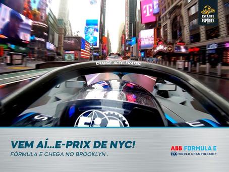 VEM AÍ O E-PRIX DE NYC