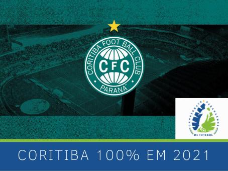CORITIBA COM 100% EM 2021
