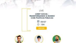 Webinar de lançamento do Lobby Social