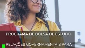 Programa de bolsa de estudo - Relações Governamentais para Inovações Políticas