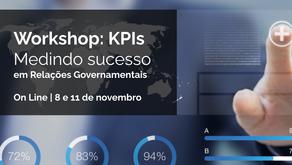 Nova turma do workshop KPIs: Medindo Sucesso em RelGov