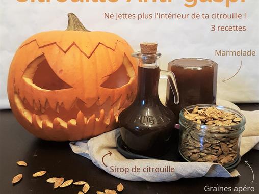 Pimp my pumpkin ! #Episode 1 : Le sirop à la citrouille