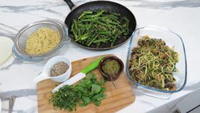 Plant Based Pesto Pasta