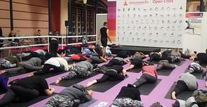 An immersive weekend of yoga, meditation & food
