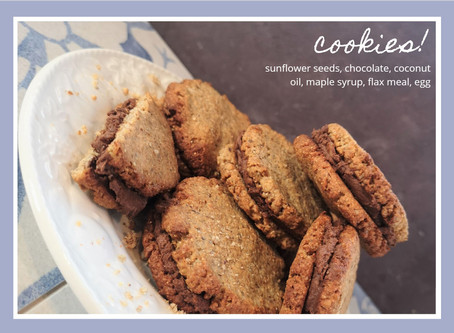 Cookie sandwiches with a twist!