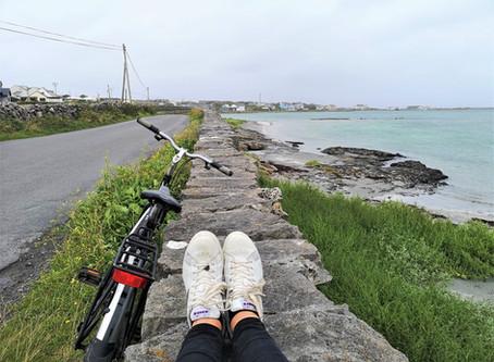 Cycling the suprisingly beautiful Aran Islands