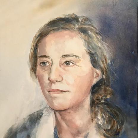 Fanny  28 x 38 cm