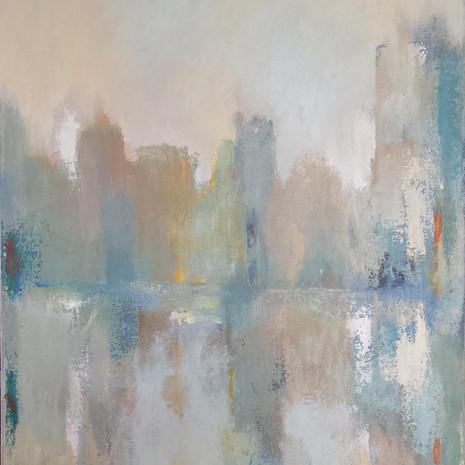 Brouillard 50 x 65 cm