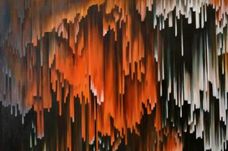 (Detail)  2021  Oil on canvas  100 x 100 cm