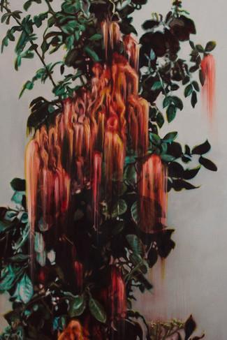 (detail)  2020  Oil on canvas  200 x 90 cm  (SPIER ARTS TRUST COLLECTION)