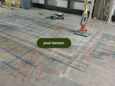 Post-Tension Concrete Scanning