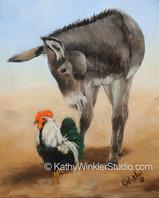 """""""Struttiin' On"""" Donkey"""