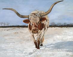 """Sentimental Journey"" Texas Longhorn"