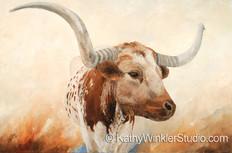 """Wow 1"" Texas Longhorn"