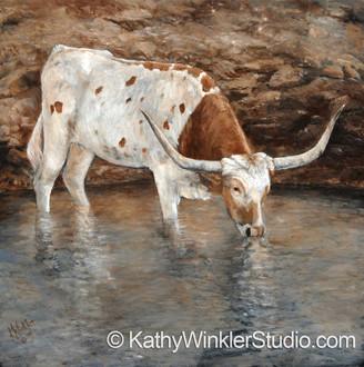 "All By Myself"" Texas Longhorn"