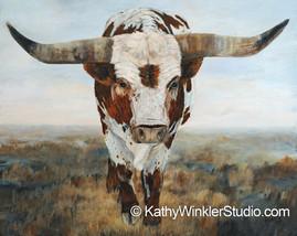 """Ramblin' On 2"" Texas Longhorn"