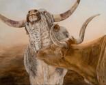 """Aaaaah!"""" Texas Longhorn Bull"""