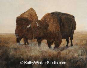 """The Dance"" Bison"