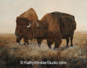 """""""The Dance"""" Bison"""