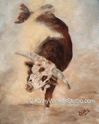 """""""Shake, Rattle and Roll 2"""" Bull"""