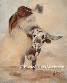 """""""Shake, Rattle and Roll 1"""" Bull"""