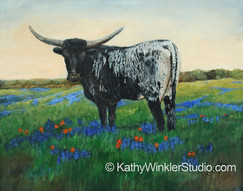 """""""My Flowers 2 - Get Your Own"""" Texas Longhorn"""